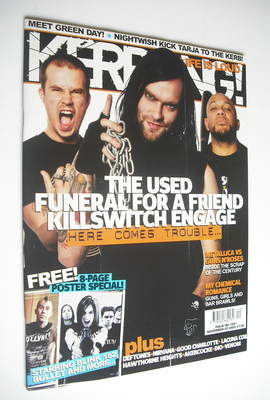<!--2005-11-05-->Kerrang magazine - Taste of Chaos cover (5 November 2005 -
