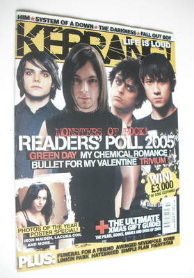 <!--2005-12-17-->Kerrang magazine - Readers' Poll 2005 cover (17 December 2