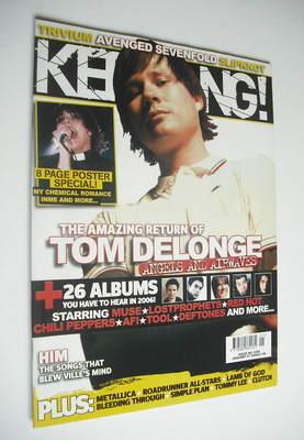 <!--2006-01-07-->Kerrang magazine - Tom Delonge cover (7 January 2006 - Iss
