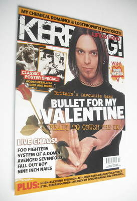 <!--2006-01-14-->Kerrang magazine - Bullet For My Valentine cover (14 Janua