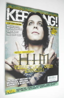 <!--2006-01-21-->Kerrang magazine - HIM Ville Valo cover (21 January 2006 - Issue 1091)