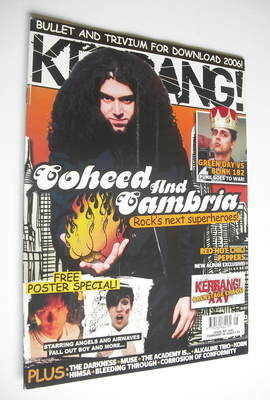 <!--2006-02-04-->Kerrang magazine - Coheed and Cambria cover (4 February 20
