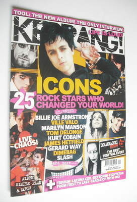 <!--2006-03-04-->Kerrang magazine - 25 Rock Stars Who Changed Your World co