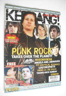 <!--2006-04-29-->Kerrang magazine - Punk Rock cover (29 April 2006 - Issue