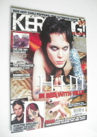 <!--2005-09-24-->Kerrang magazine - HIM Ville Valo cover (24 September 2005 - Issue 1075)