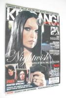 <!--2005-10-01-->Kerrang magazine - Nightwish cover (1 October 2005 - Issue 1076)