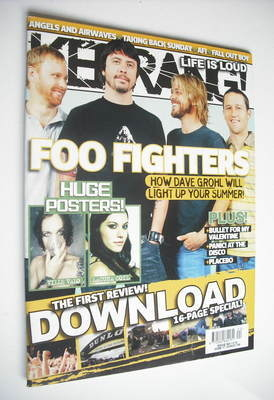 <!--2006-06-17-->Kerrang magazine - Foo Fighters cover (17 June 2006 - Issu