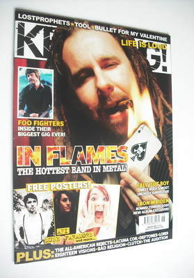 <!--2006-07-01-->Kerrang magazine - In Flames cover (1 July 2006 - Issue 11