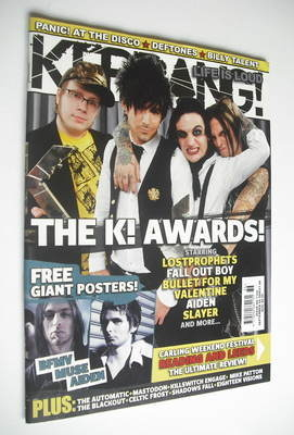 <!--2006-09-09-->Kerrang magazine - K Awards 2006 cover (9 September 2006 -