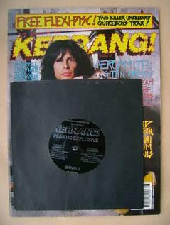 <!--1990-02-24-->Kerrang magazine - Steven Tyler cover (24 February 1990 -