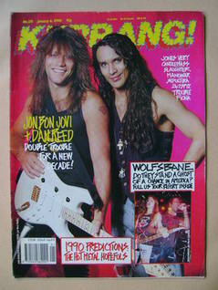 <!--1990-01-06-->Kerrang magazine - Jon Bon Jovi and Dan Reed cover (6 Janu