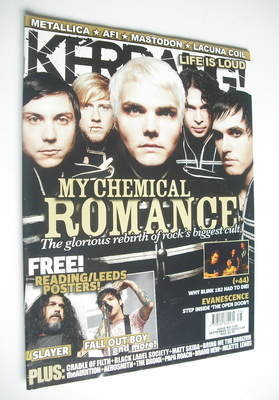 <!--2006-09-23-->Kerrang magazine - My Chemical Romance cover (23 September