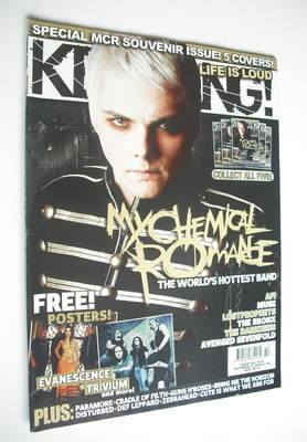 <!--2006-10-21-->Kerrang magazine - Gerard Way cover (21 October 2006 - Iss