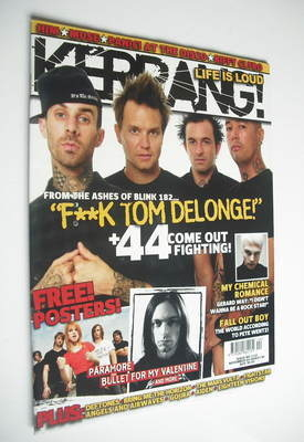 <!--2006-11-04-->Kerrang magazine - +44 cover (4 November 2006 - Issue 1132