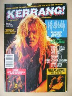 <!--1993-01-23-->Kerrang magazine - 23 January 1993 (Issue 427)