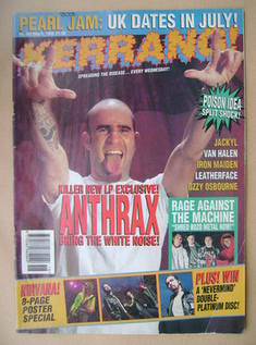 <!--1993-05-08-->Kerrang magazine - 8 May 1993 (Issue 442)