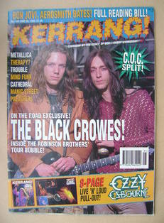 <!--1993-06-26-->Kerrang magazine - 26 June 1993 (Issue 449)