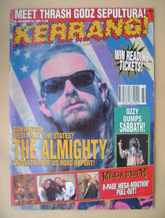 <!--1993-08-14-->Kerrang magazine - 14 August 1993 (Issue 456)