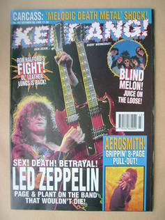 <!--1993-10-30-->Kerrang magazine - 30 October 1993 (Issue 467)