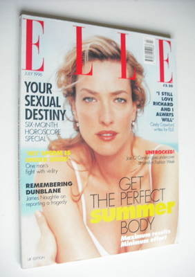 <!--1996-07-->British Elle magazine - July 1996 - Tatjana Patitz cover