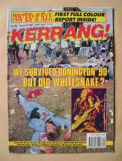<!--1990-08-25-->Kerrang magazine - 25 August 1990 (Issue 304)