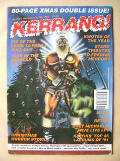 <!--1991-12-21-->Kerrang magazine - 21-28 December 1991 (Issue 372)