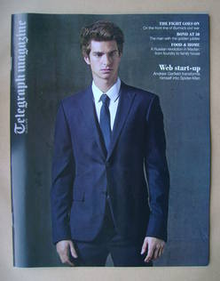 <!--2012-06-23-->Telegraph magazine - Andrew Garfield cover (23 June 2012)
