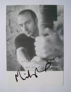 Midge Ure autograph
