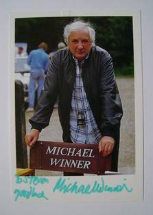 Michael Winner autograph