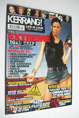 <!--2004-07-17-->Kerrang magazine - The Extreme Road Trip cover (17 July 20