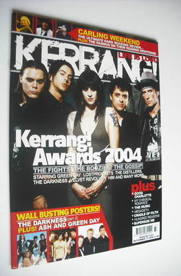 <!--2004-09-11-->Kerrang magazine - Kerrang Awards 2004 cover (11 September