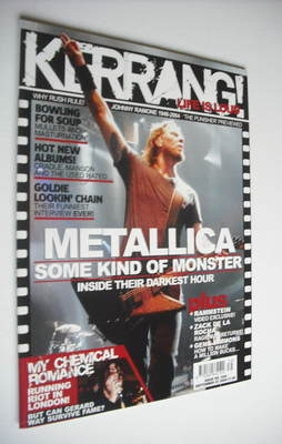 <!--2004-09-25-->Kerrang magazine - Metallica cover (25 September 2004 - Is
