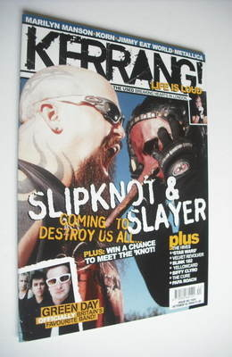<!--2004-10-02-->Kerrang magazine - Slipknot and Slayer cover (2 October 20