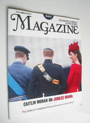 <!--2012-06-09-->The Times magazine - Prince William, Prince Harry and Kate