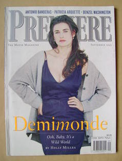 Premiere magazine - Demi Moore cover (September 1995)