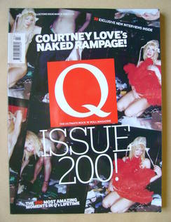<!--2003-03-->Q magazine - Courtney Love cover (March 2003)