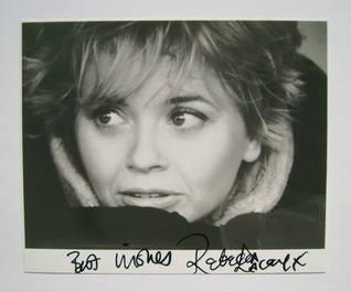 Rebecca Lacey autograph