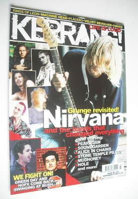 <!--2004-11-20-->Kerrang magazine - Nirvana cover (20 November 2004 - Issue