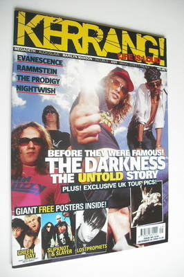 <!--2004-12-04-->Kerrang magazine - The Darkness cover (4 December 2004 - I