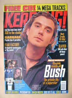 <!--1998-04-25-->Kerrang magazine - Gavin Rossdale cover (25 April 1998 - I