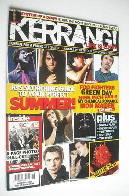 <!--2005-05-07-->Kerrang magazine - Scorching Guide To Your Perfect Summer