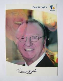 Dennis Taylor autograph