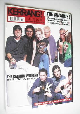 <!--2002-09-07-->Kerrang magazine - Awards cover (7 September 2002 - Issue
