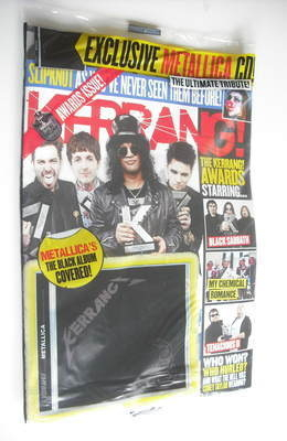 <!--2012-06-23-->Kerrang magazine - Awards cover (23 June 2012 - Issue 1420