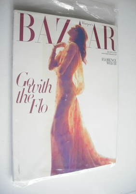 <!--2012-07-->Harper's Bazaar magazine - July 2012 - Florence Welch cover (