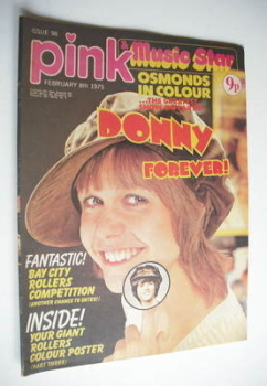 <!--1975-02-08-->Pink magazine - 8 February 1975 - Julie Peasgood cover