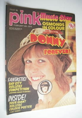 Pink magazine - 8 February 1975 - Julie Peasgood cover