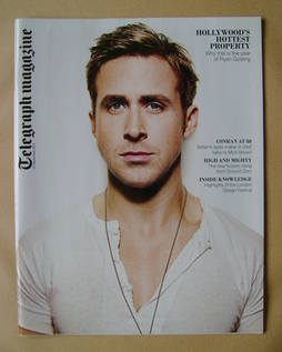 <!--2011-09-10-->Telegraph magazine - Ryan Gosling cover (10 September 2011