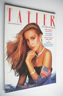 <!--1980-11-->Tatler magazine - November 1980 - Jerry Hall cover