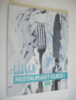 Tatler supplement - UK Restaurant Guide 2001